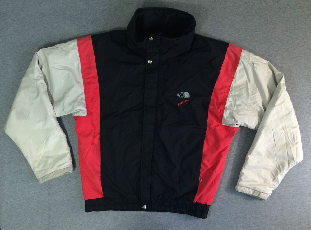 fa9c46175 THE NORTH FACE Jacket 80's Vtg EXTREME GORE-TEX Ski Snow Full Zip ...