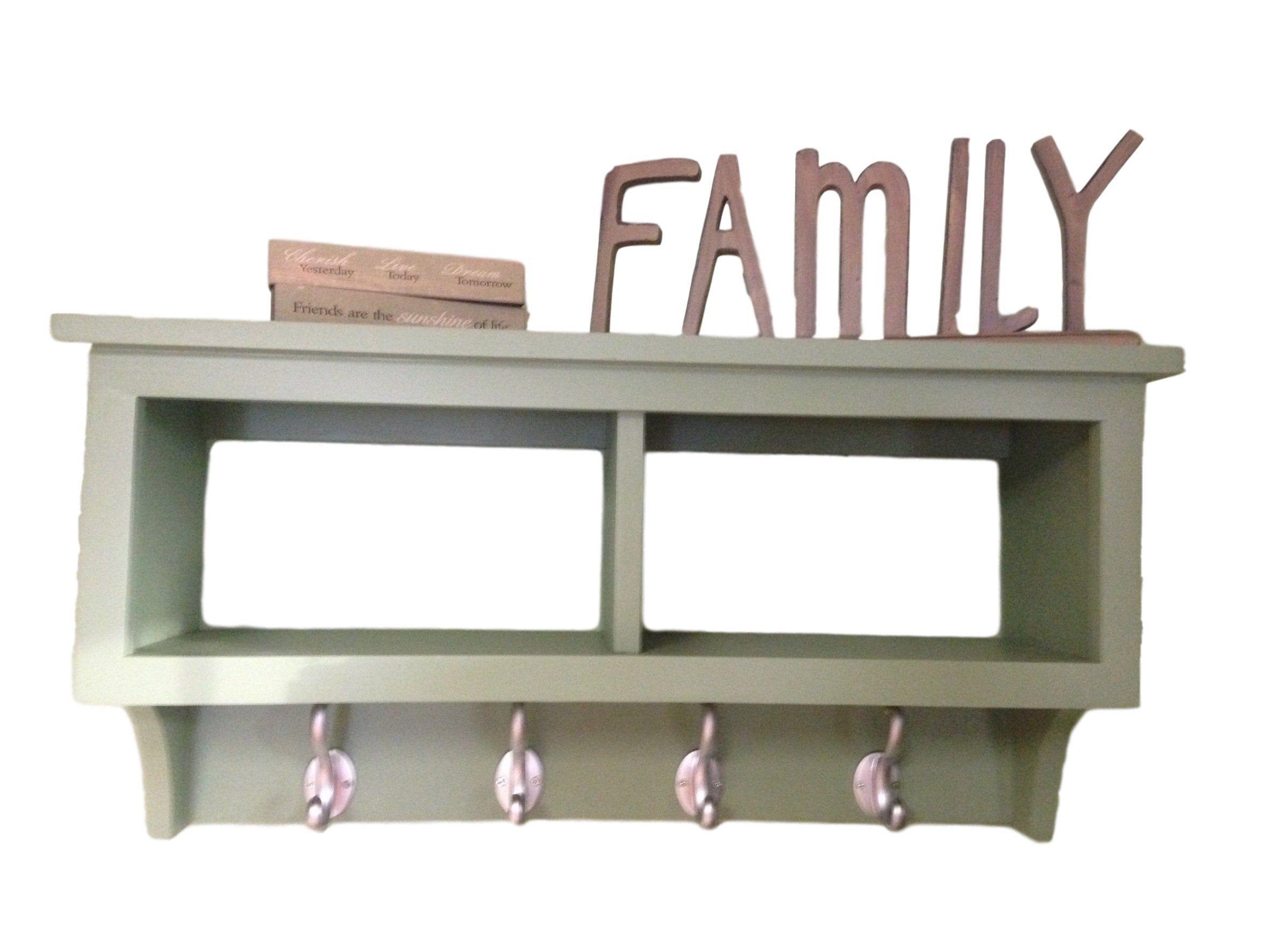 2 Cubby Wall Shelf Country Shelf For Baskets Bath Or Entryway Etsy Country Shelves Wall Shelves Cubbies