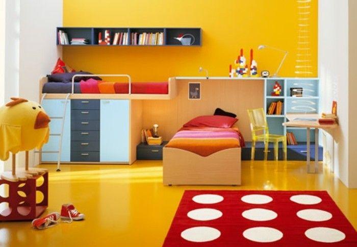 Peinture chambre enfant - 70 idées fraîches | chambre d\'enfant ...