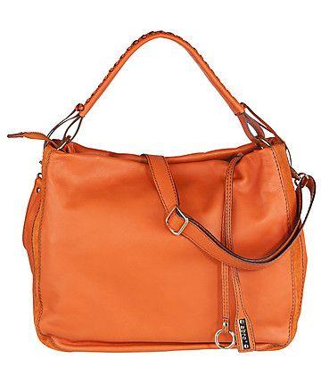 Abro Handtasche In Leuchtendem Orange Leather Bag Www Fashion
