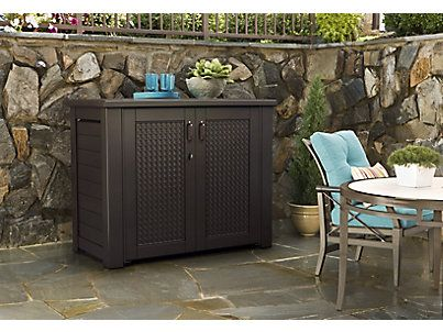 Patio Chic Storage Cabinet Rubbermaid Garden Pinterest Cabinets Patios And