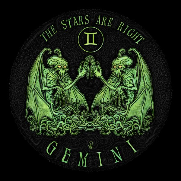 The Stars Are Right For The Sign Of Gemini Astrology T Shirt