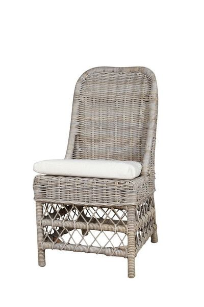 Rattan Dimensions 21 Wide X 23 Deep X 40 Back Height Freight Delivery Indoor Use And Covere Side Chairs Dining Side Chairs Outdoor Wicker Furniture