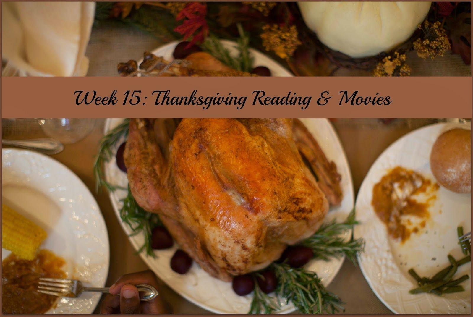 Raising Samuels Homeschool: Week 15: Thanksgiving Reading and Movies #homeschool