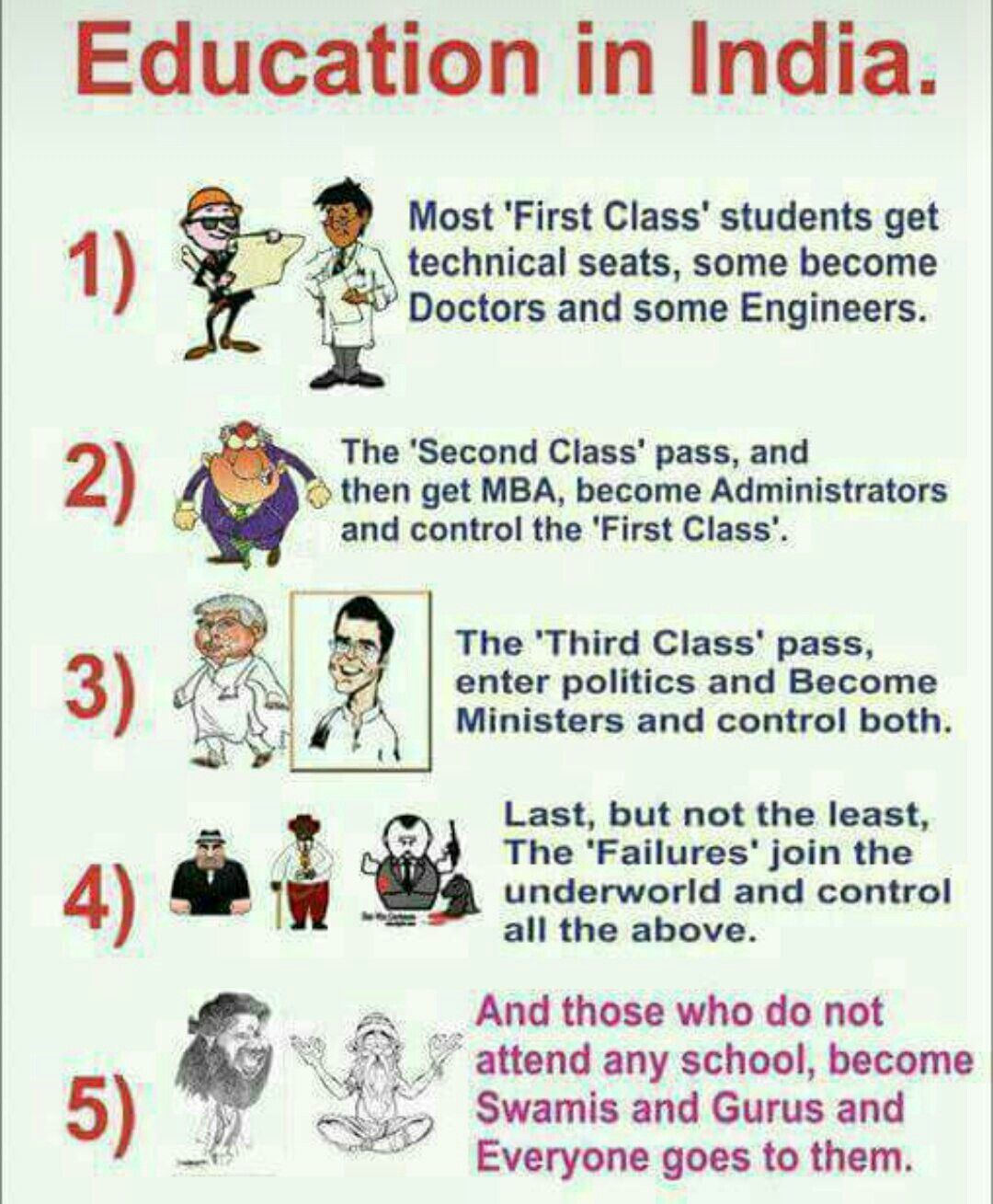 Pin By Rajvi Shah On Satire Education In India Education Education System