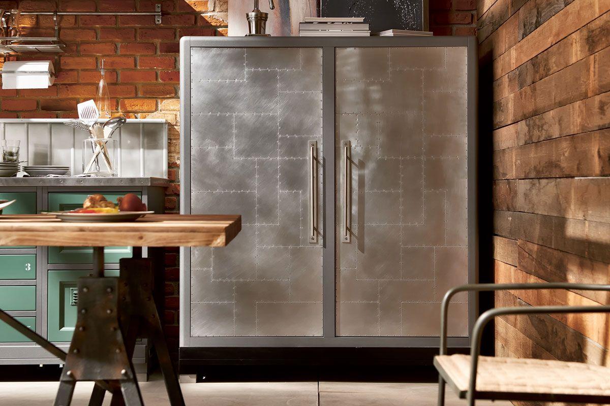 Marchi Group - Loft Cucina vintage - Cucina componibile - frigo free ...