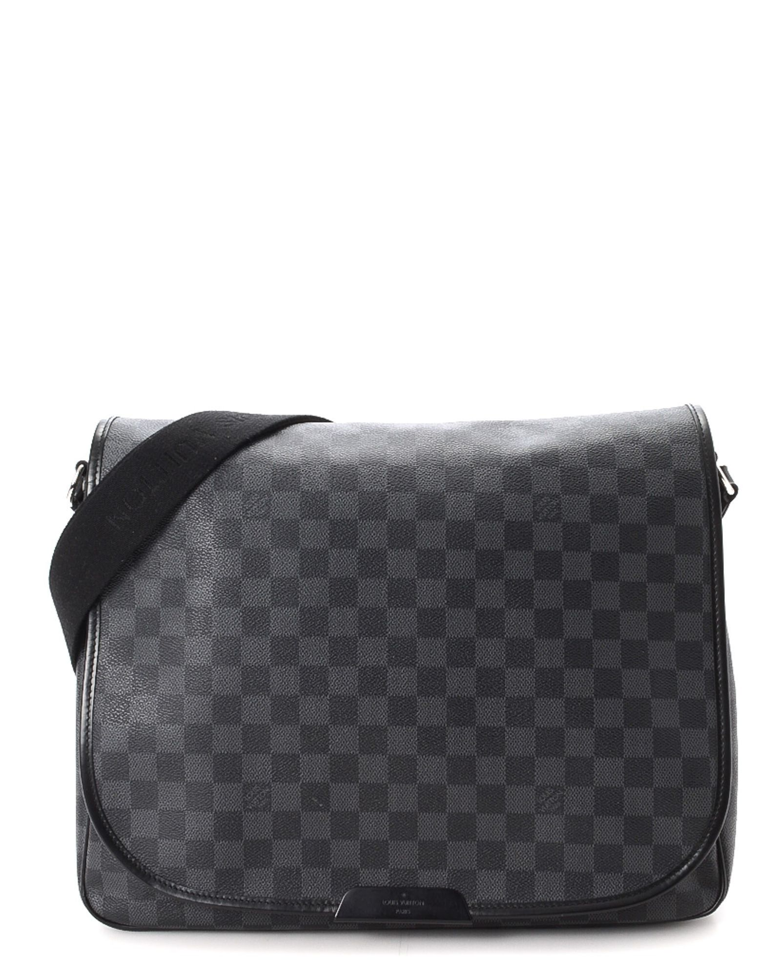 76ef938beae74 Louis Vuitton Daniel GM Damier Graphite Messenger Bag - Vintage ...