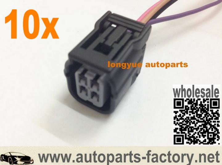 Long Yue 4 Way Female Sensor Repair Connector Pigtail 6 Sensor Repair Car Electronics