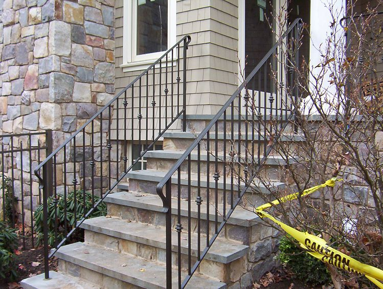 Exterior Railing By Iron Work Expo In Nj Exterior
