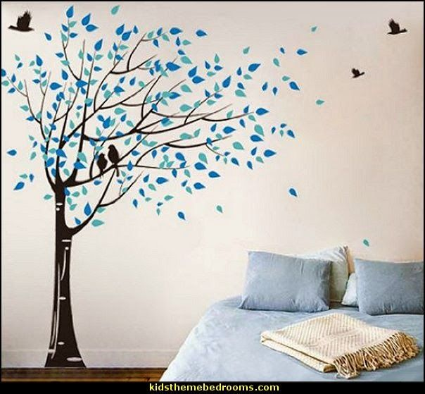 Maries Manor Tree Murals Wall Decals Amazon Stickers Arbre Part 10