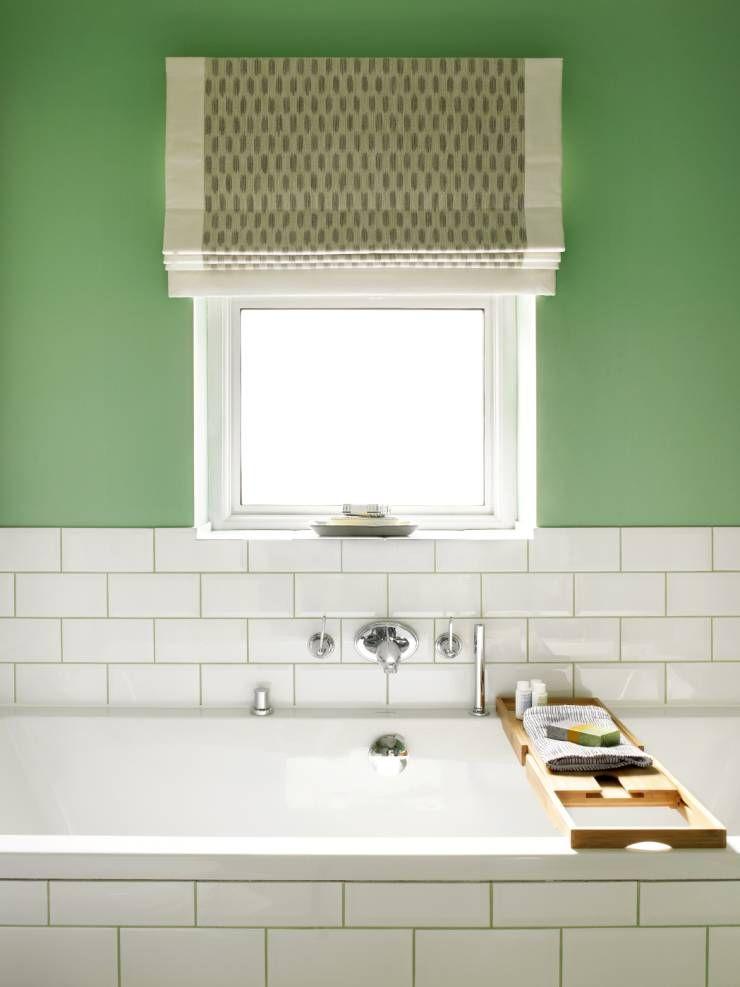 Richmond, 1930's Refurbishment: Eclectic Bathroom by Amory Brown Ltd