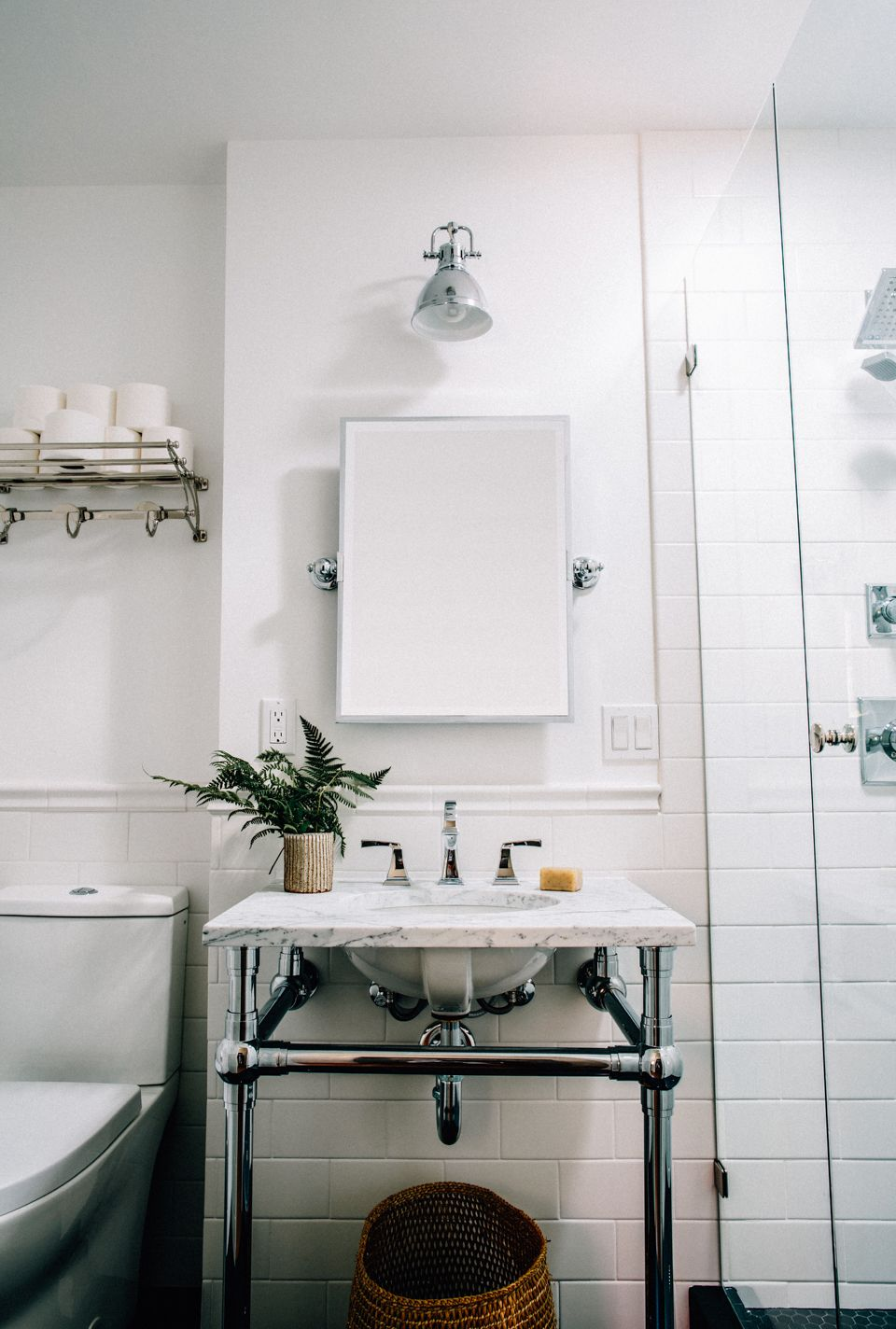 Before + After | Tiny Guest Bathroom Remodel - Cheetah is the New ...
