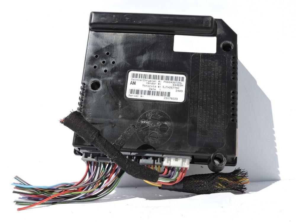 01 03 Dodge Dakota Central Timing Module P56049072al Ctm Body