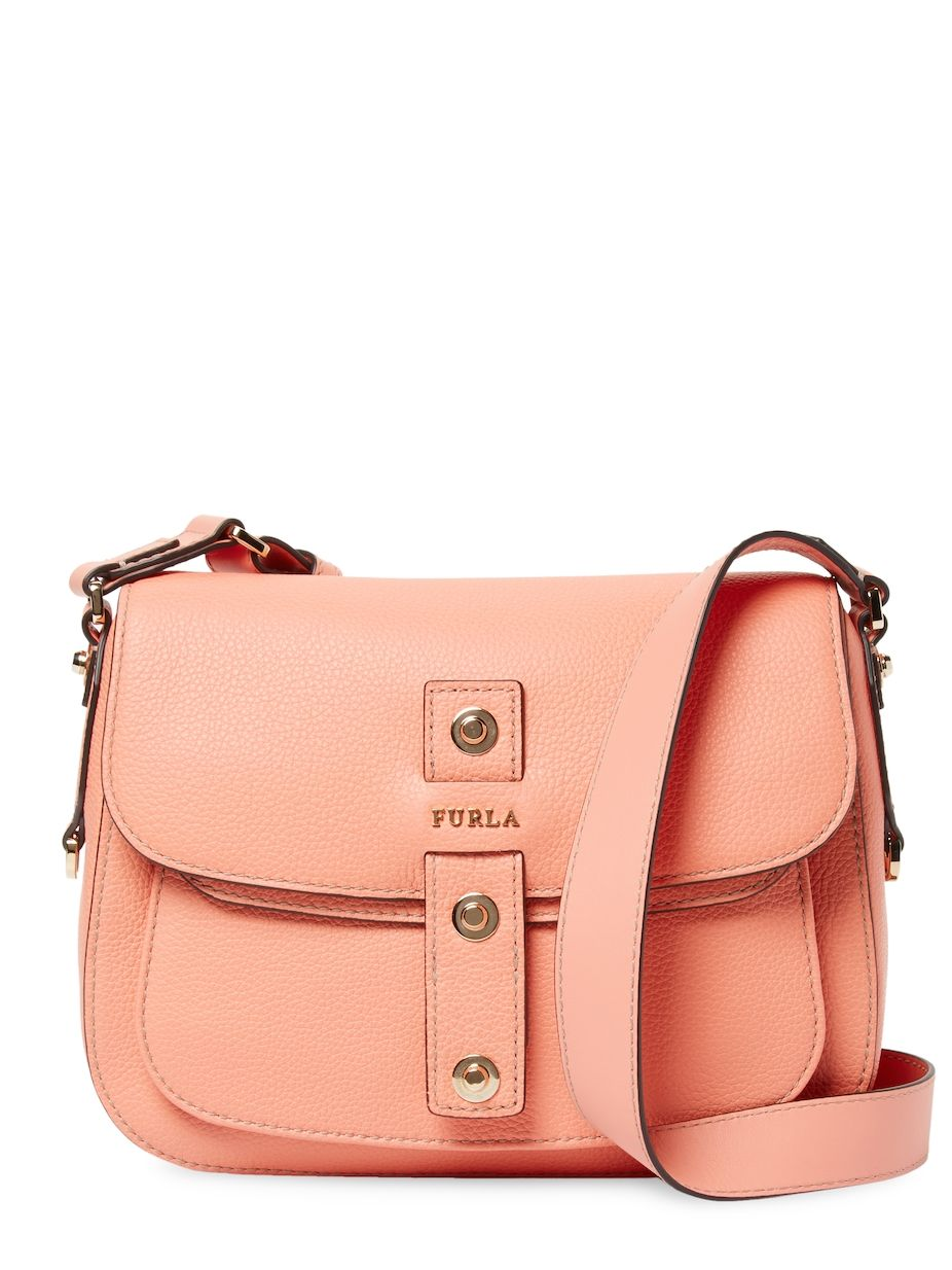 b41477f0d792 Furla Emma S Leather Shoulder Bag