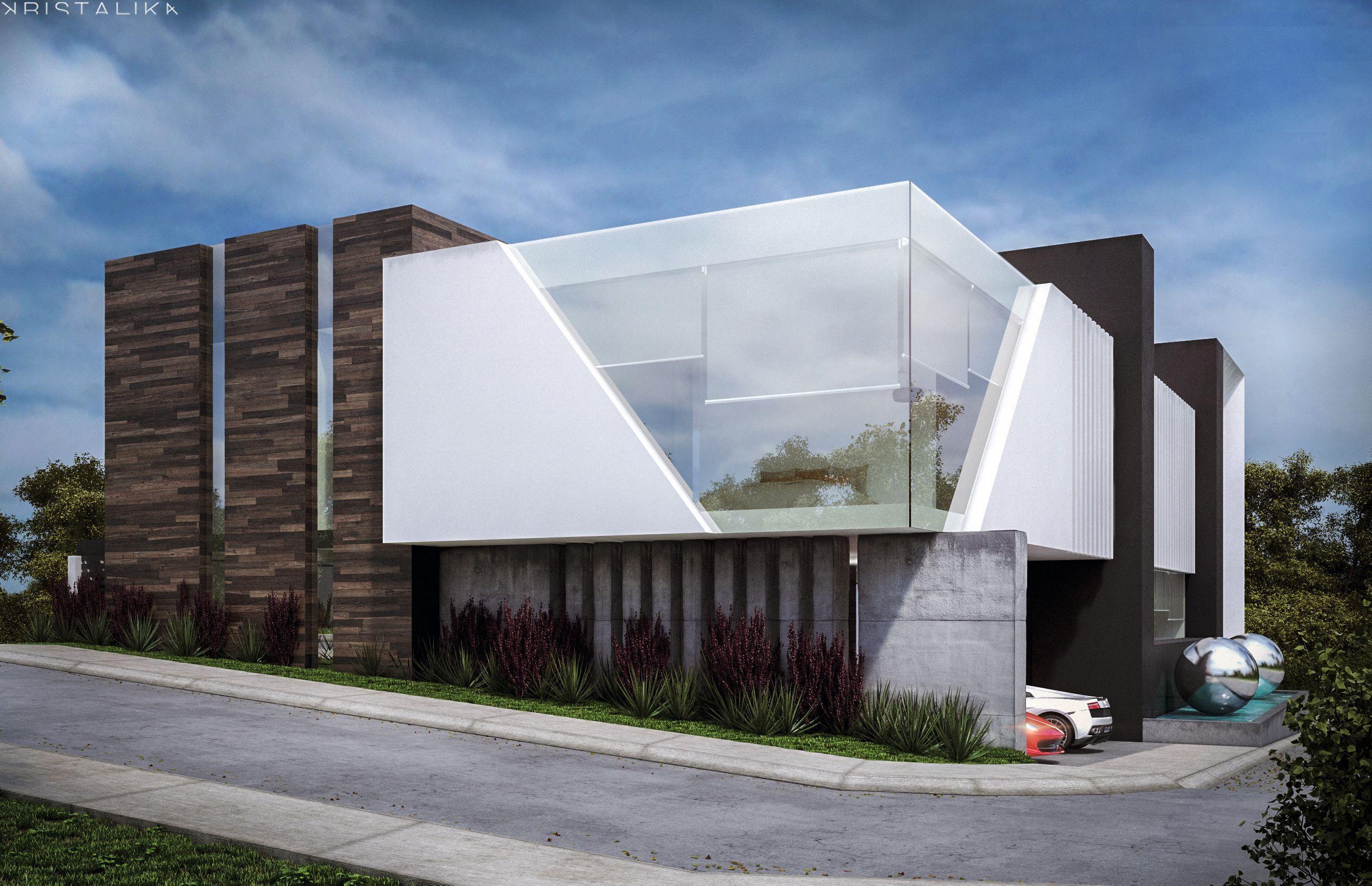 Rio dee house fachadas minimalistas casas for Fachada de casas modernas