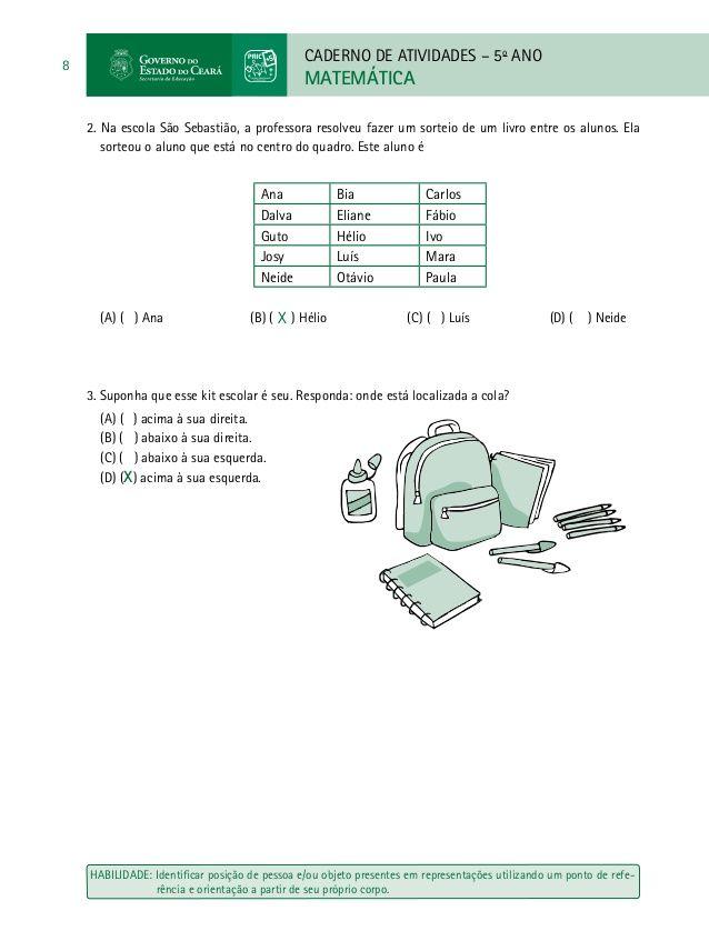 Caderno Do Professor De Matematica Paic Vol Ii 3º E 4º Bimestre