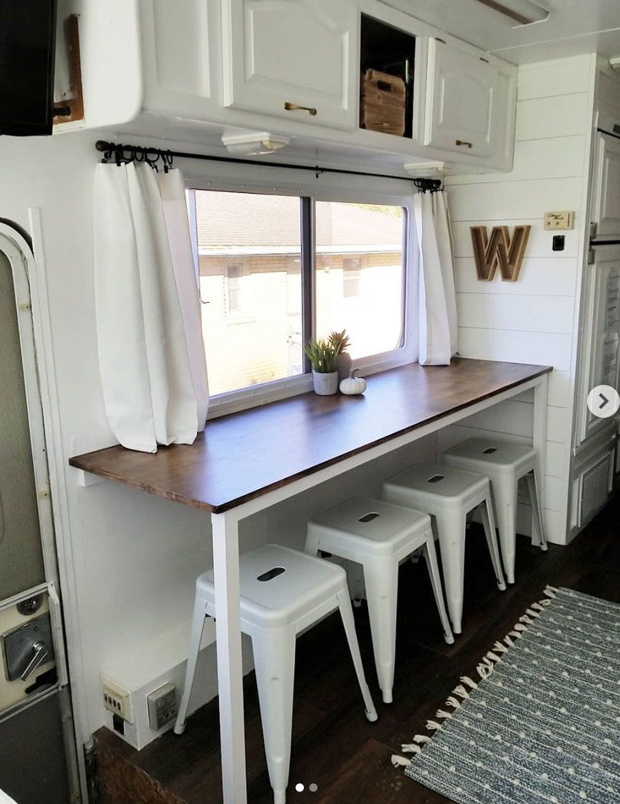 20 Inspiring RV Makeovers - Tidbits -  20 Inspiring RV makeovers and renovations, and a peek at our