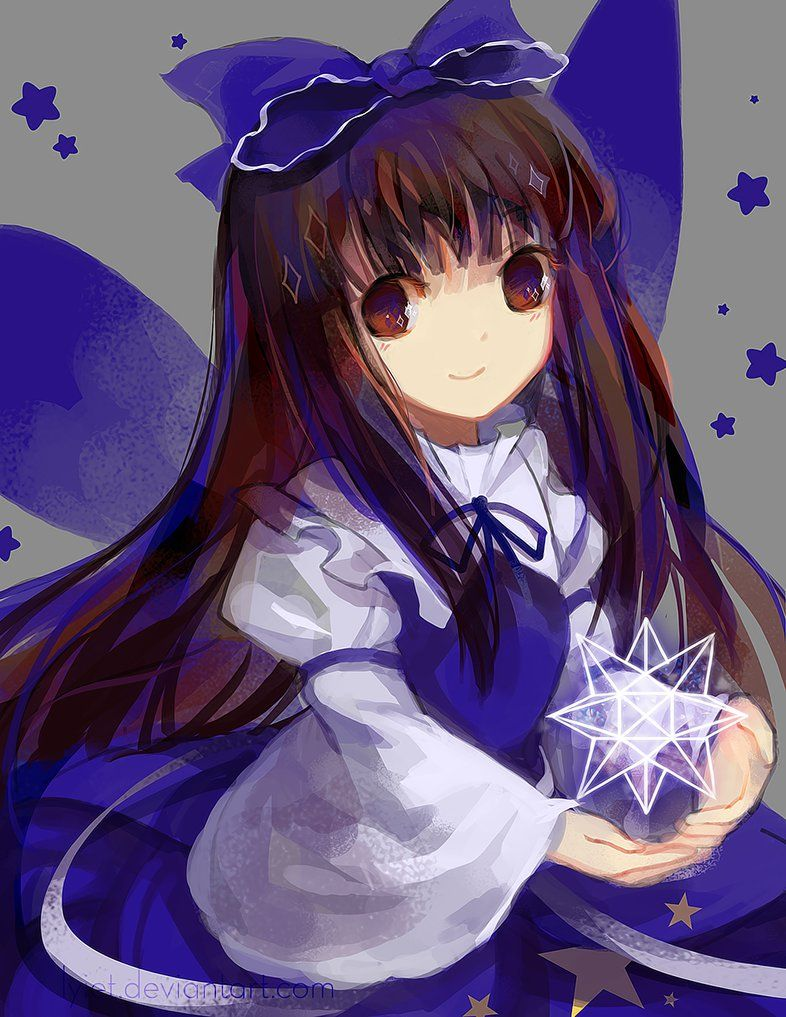 Touhou color wheel11Star Sapphire by Lyiet on DeviantArt
