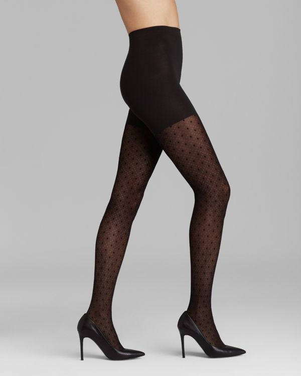 062bae375fd3a Spanx Tights - Patterned Tight-End Tights Dotted Lines #2073 ...