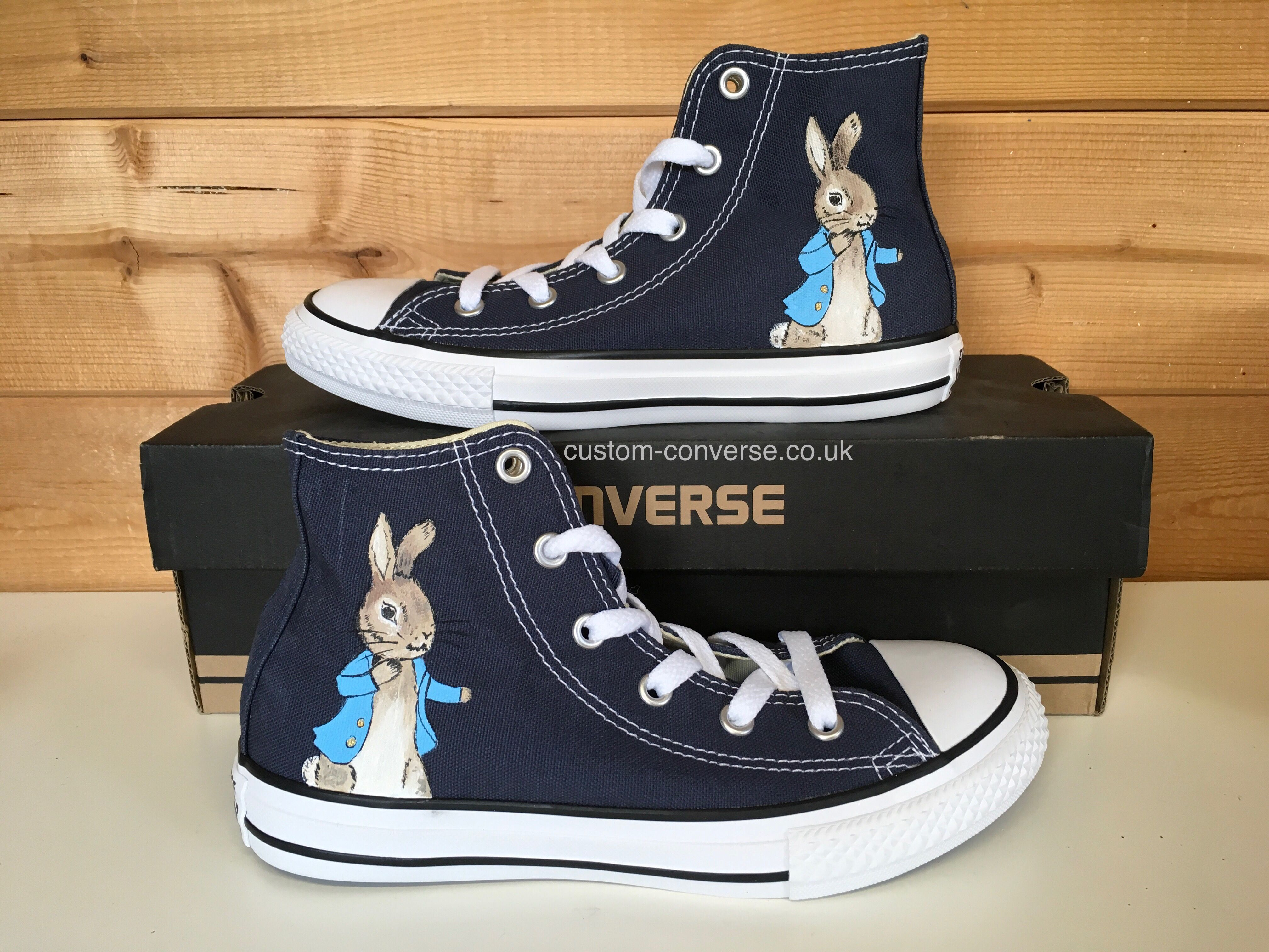 Infant Converse Kids Converse Personalised Peter Rabbit Pink
