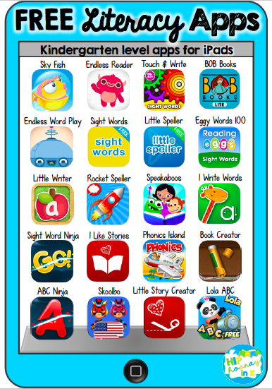 APPmazing Free Literacy Apps (for iPad)