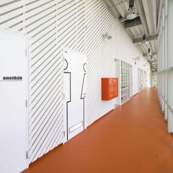 Pasillo público #pasillos #Hallways #design
