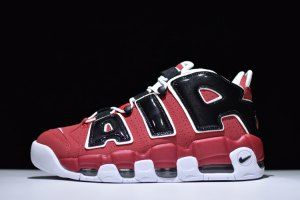 pretty nice 8e9f3 1d6c3 Nike Air More Uptempo 96 Bulls Red Black White 921948 600 Mens Running Shoes