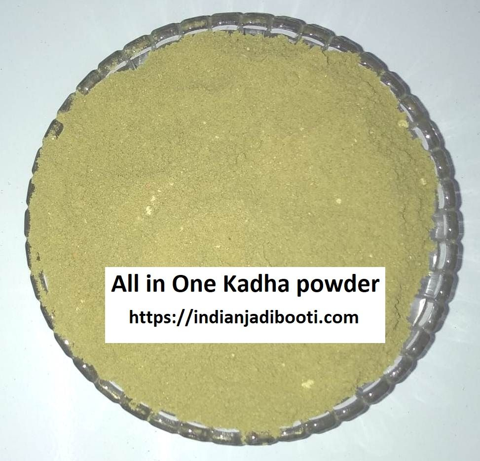 Get pure authentic kadha all in one powder pack tulsi