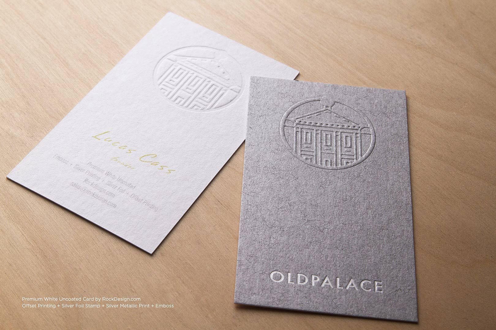 premium uncoated visiting card template | Business Cards | Pinterest ...