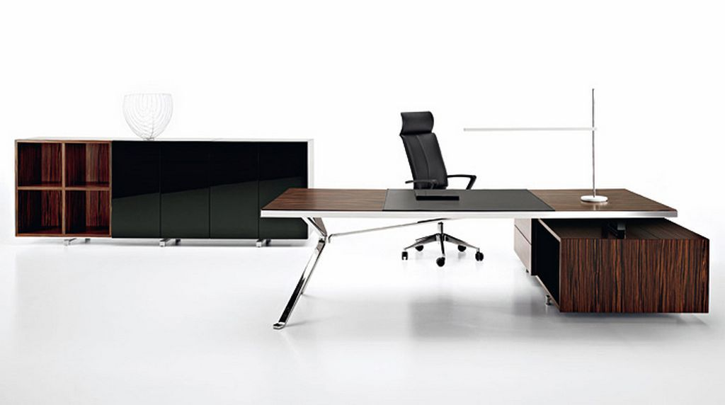 Minimalist Executive Office Furniture Stylish Design By Manerba 2