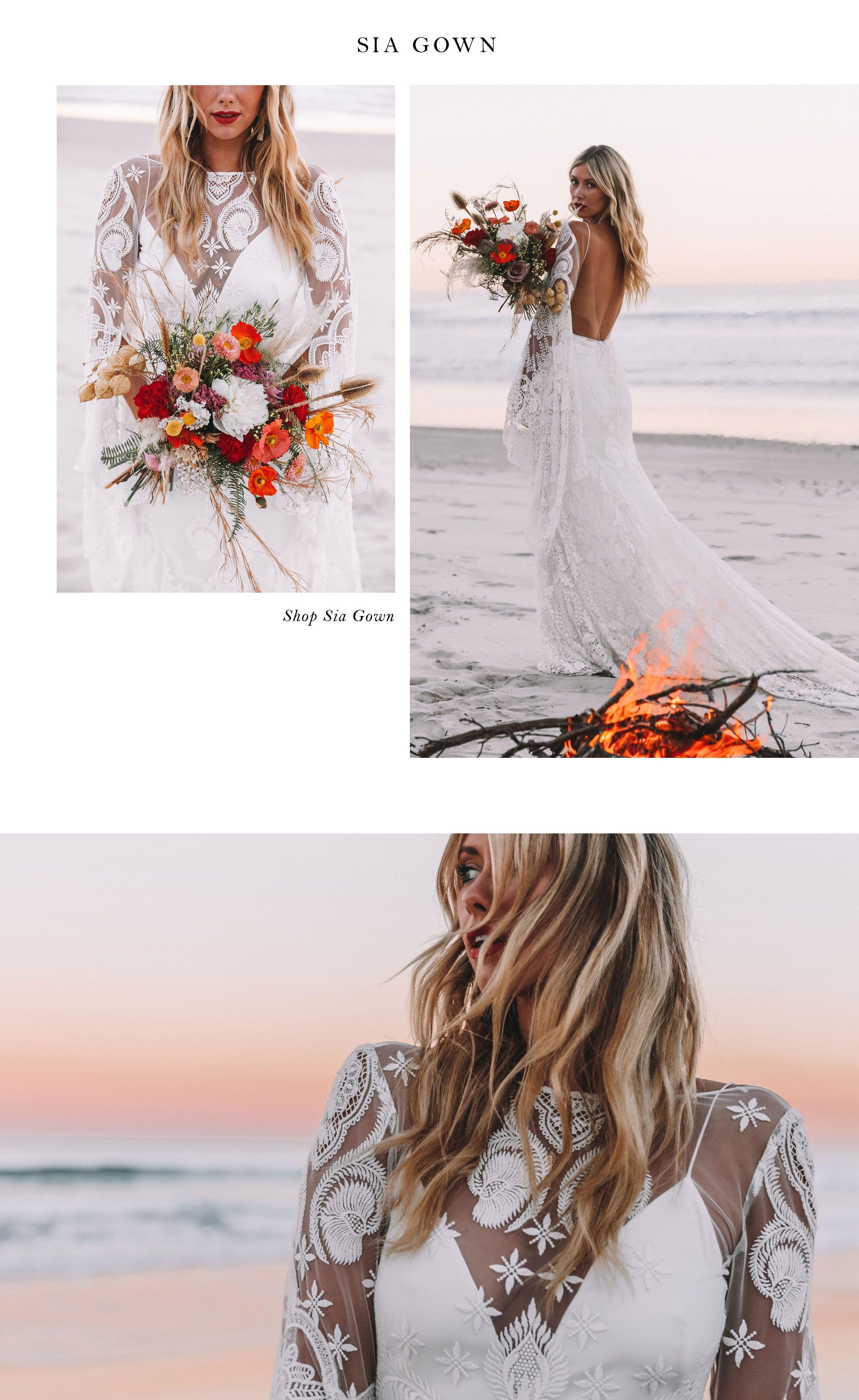 Lisa Sia Wedding Dresses Lace Wedding Dresses Gowns