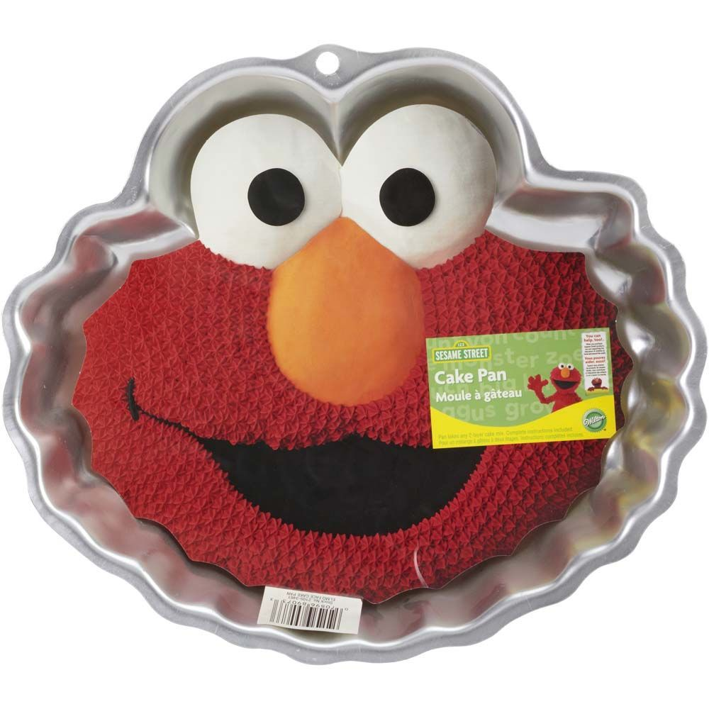 Bake the perfect cake for your Sesame Street themed party