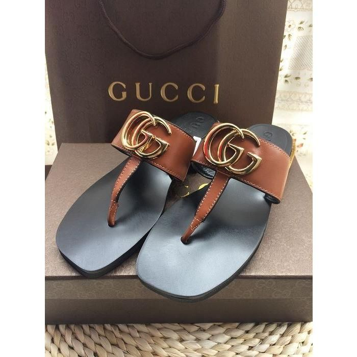 Gucci Leather Shoes, Slippers & Sandals Shoes For Women, 1 : 1 Quality from