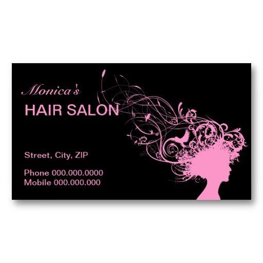 Hair Salon Business Card Choose Your Color Salon Business Cards Hair Salon Business Beauty Business Cards