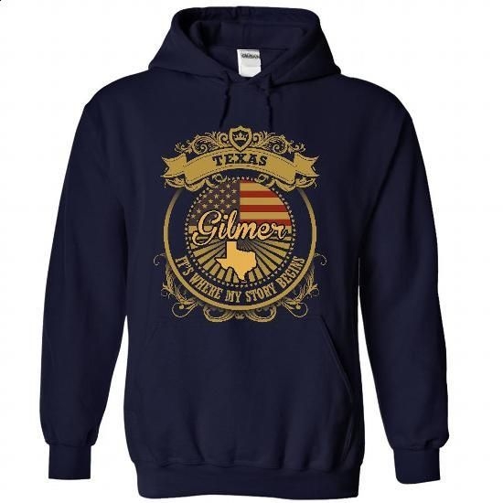 Gilmer - Texas Is Where Your Story Begins 2805 - #black sweatshirt #navy sweater. SIMILAR ITEMS => https://www.sunfrog.com/States/Gilmer--Texas-Is-Where-Your-Story-Begins-2805-1796-NavyBlue-50949388-Hoodie.html?68278