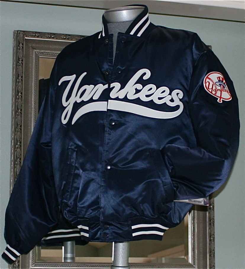 3a7a92914 NEW YORK YANKEES Majestic Authentic Collection SATIN DUGOUT JACKET in  Medium NEW #Majestic #NewYorkYankees