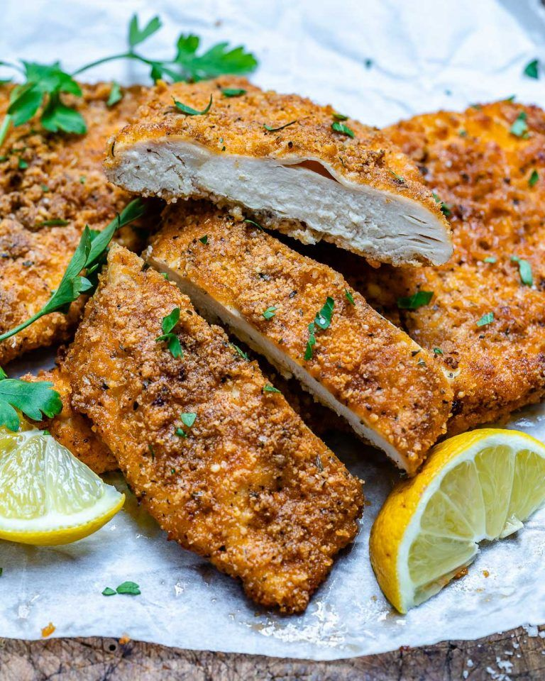 Baked Parmesan Chicken Cutlets