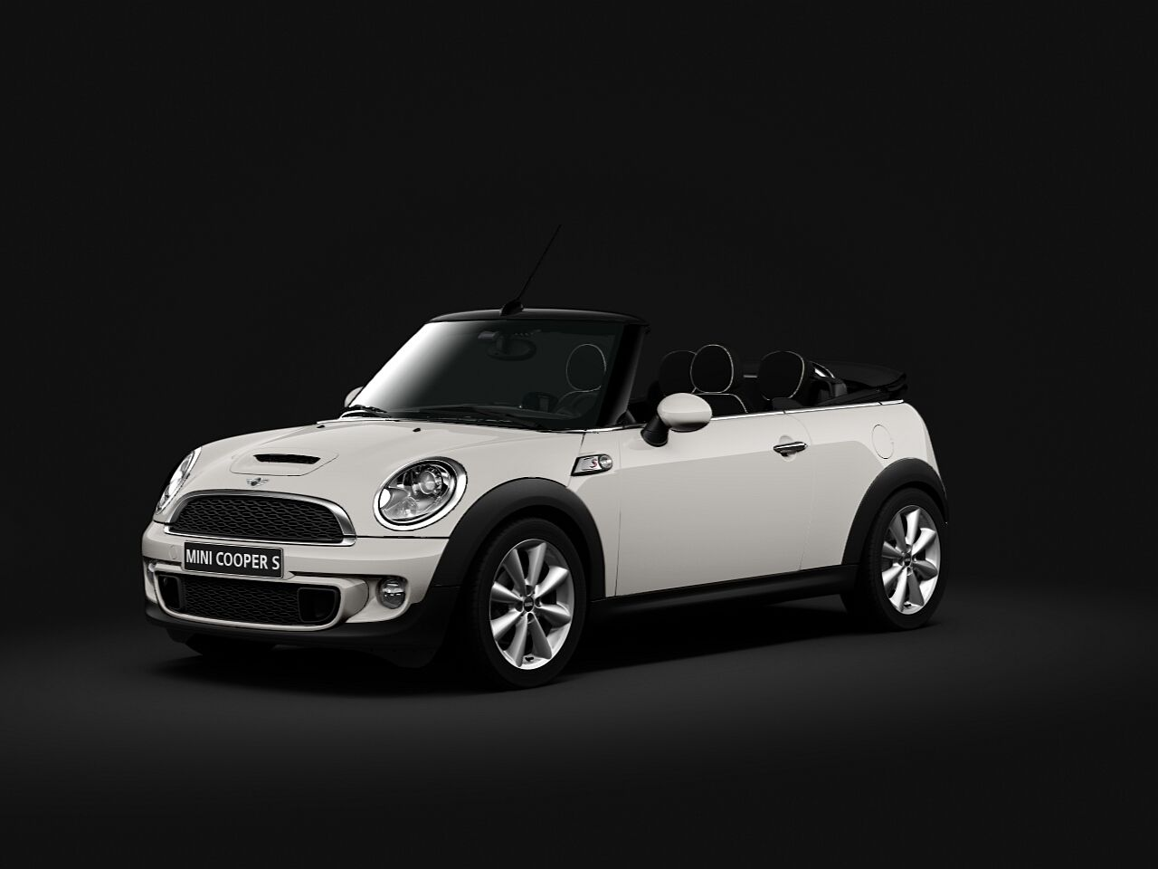 mini cooper s convertible pepper white with black roof wheels pinterest convertible. Black Bedroom Furniture Sets. Home Design Ideas