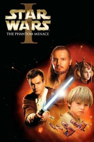 Episodio I A Ameaca Fantasma Star Wars Filmes Star Wars Episodio 2