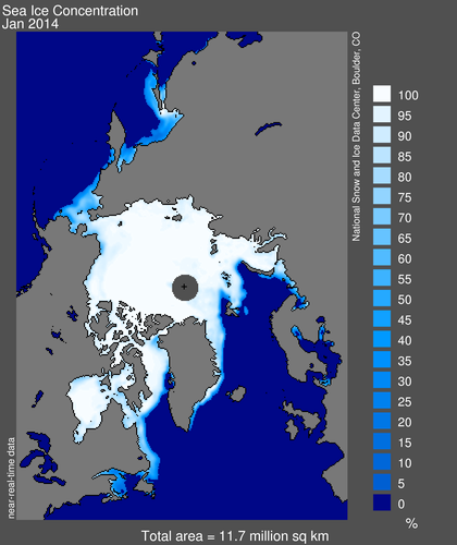 Sea Ice From US Gov Data Go To Daily And Antarctic Charts Too - Us gove ice map