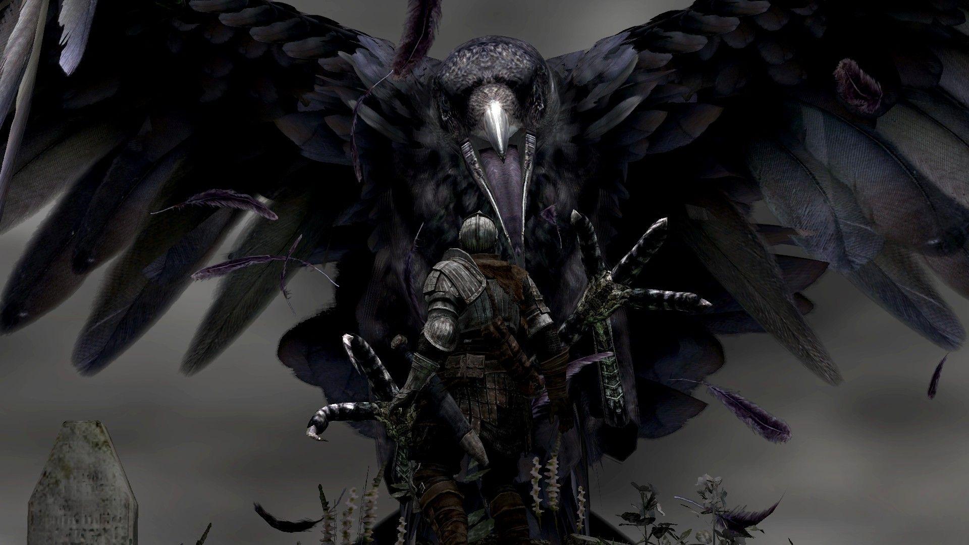 4da06e29 raven woman art | Wallpapers :: dark, giant, fantasy art, grab ...