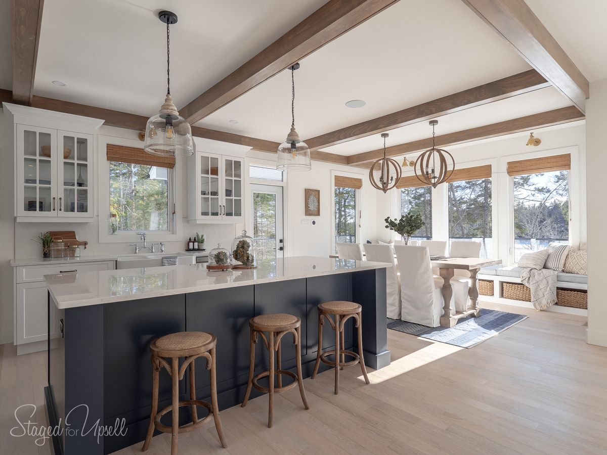 Home Of The Month Lake House Reveal Simple Stylings Sweet Home Home Remodeling Kitchen Living