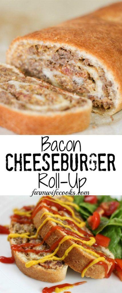 Photo of Bacon Cheeseburger Roll-Up