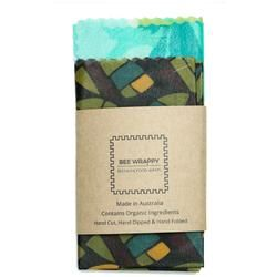 2 x Medium Pack - Reusable Natural Beeswax Food Covers