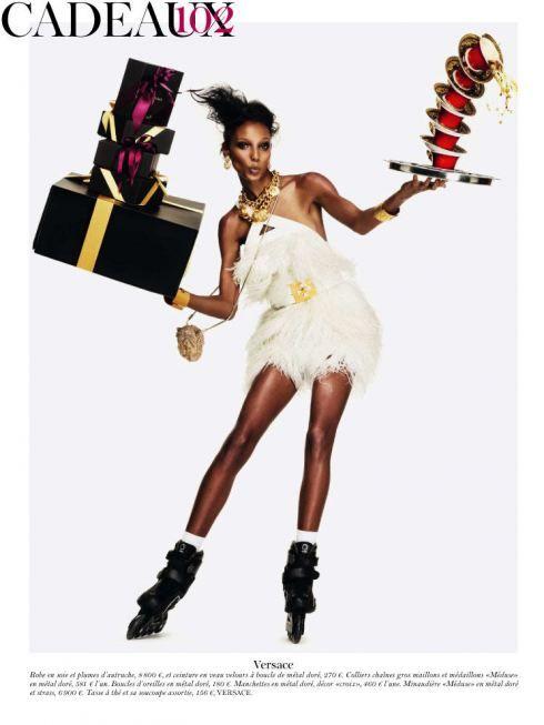 Vogue Paris Festive Gift Guide Fashion Model Photography Vogue Paris French Vogue