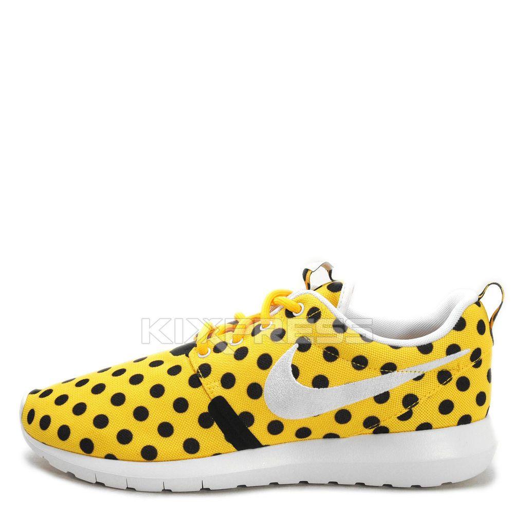 Nike Roshe NM QS [810857-700] NSW Casual Rosherun One Polka Dot Maize