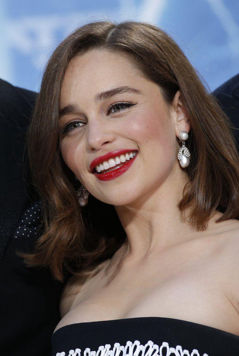 Emilia Clarke at the 2015 Berlin premiere of 'Terminator ...