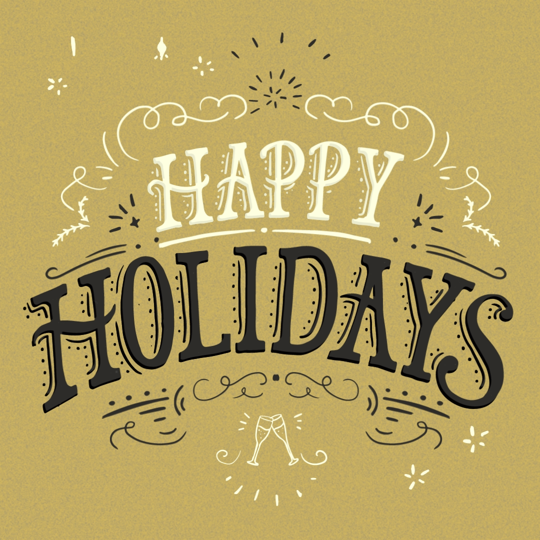 Holidays Stars Vintage Gold Video Video Holiday Messages Personalized Holiday Holiday
