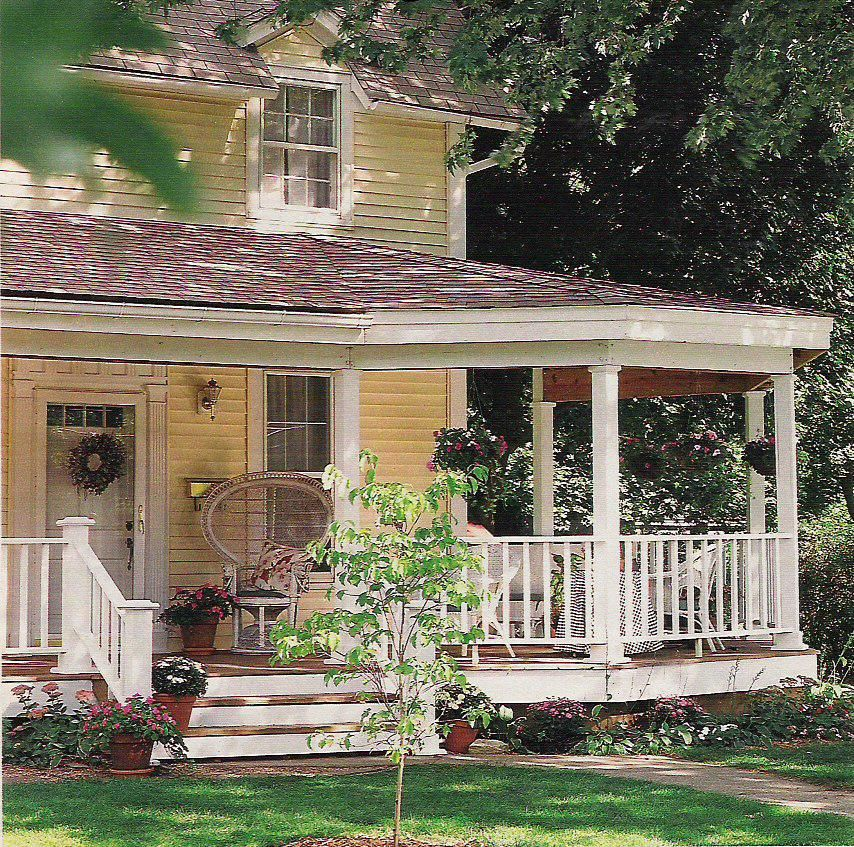 Porches Wrap Around Porches And Victorian On Pinterest: Porch And Front