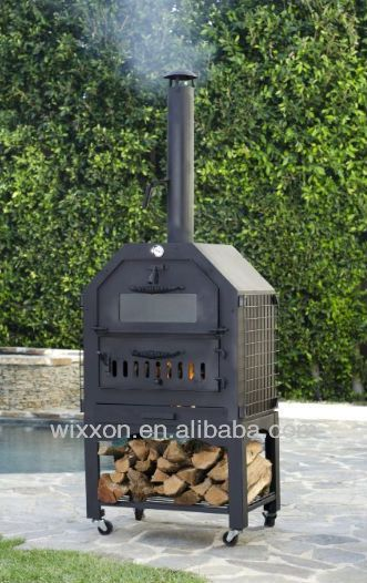 Wood Fired Outdoor Bbq Pizza Oven And Smoker 200 210